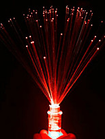 люминесцентный волокна небольшой ночной свет привел красочные свечи розовый цвет случайный