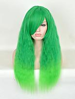 mulheres resistentes onda longa naturais de calor barato cosplay peruca sintética