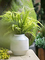 1 Branch Artificial Plants Leaf  Persian Grass Fern Plants Simulation Flower Decoration Arrangement