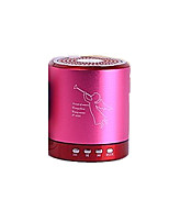 T-2020 Aluminum Alloy Bluetooth Speaker (Note Pink)
