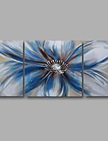 Peint à la main Abstrait Paysage Peintures à l'huile,Moderne Trois Panneaux Toile Peinture à l'huile Hang-peint For Décoration d'intérieur