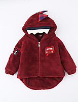 Boy's Casual/Daily Print Jacket & CoatCotton Winter / Spring Blue / Red