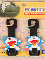 Cute Cartoon Car Seat Back Objects Linked To Car Hook Car Seat Back