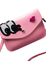 Women PU / leatherette Sports / Casual / Event/Party / Outdoor Evening Bag/Shoulder/Crossbody/Character Cartoon Phone Bag
