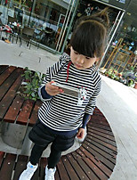 Girl's Casual/Daily Striped Hoodie & SweatshirtCotton Winter / Spring / Fall Blue / Pink