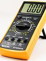 dt9205a nouvelle main - écran tenue dc intelligente haute précision multimètre numérique jaune
