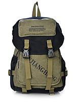 Fine New Unisex Casual Canvas Backpack Cool School Bags