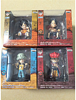One Piece Monkey D. Luffy PVC 10CM Figures Anime Action Jouets modèle Doll Toy