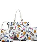 Damen PU / Polyester Alltag Bag Sets