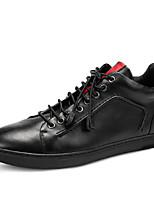 Черный-Мужской-Для офиса / На каждый день / Для занятий спортом-Кожа-На плоской подошве-Others-Ботинки