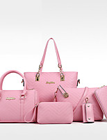 Women PU Formal Casual Event/Party Office & Career Bag Sets
