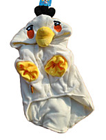 Cute Fleece Warm Bird Halloween Costume Shirt with Hoodie for Pets Winter Dog Clothes
