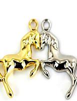 Metal car key ring