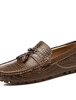 Men's Loafers & Slip-Ons  Fashion Boots Leather Office & Career / Party & Evening / Casual Flat Heel
