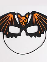 (Padrão é aleatório) hallowmas 1pc máscara do partido traje vara