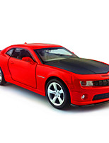 Action Figure / Play Vehicles Model & Building Toy Car Metal Red / Black / Yellow For Boys Above 3