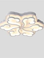 12W Montagem do Fluxo ,  Contemprâneo / Tradicional/Clássico Pintura Característica for LED / Estilo Mini MetalSala de Estar / Quarto /