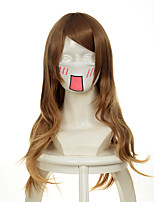 B Gata H Kei Yamada Brown Wavy Halloween Wigs Synthetic Wigs Costume Wigs