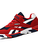 Boy's Athletic Shoes Spring Fall Mary Jane Leatherette Outdoor Athletic Flat Heel Lace-up Blue Red Royal Blue