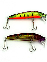 1 pcs Minnow / Fishing Lures Minnow Random Colors 8.5 g Ounce mm inch,Soft Plastic Bait Casting