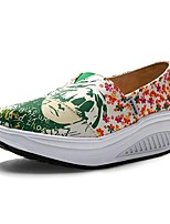 Women's Loafers & Slip-Ons  Creepers / Fitness shoes / Novelty Canvas Casual Platform /New Arrival