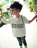 Boy's Casual/Daily Print Hoodie & SweatshirtCotton Spring / Fall White / Gray