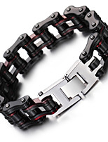 Kalen New Men's Bike Chain Bracelet Cool Biker Bicycle Chain Bracelet Fashion 316L Stainless Steel Hand Chain  2016 Christmas Gifts