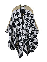 NITE OWL Women Rayon ScarfCasual RectangleBlack / Blue / Pink / Yellow / BeigeJacquard-16054