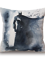 Polyester Decorative Cushion Pillow Cover Print Cartoon Hero Sofa Home Decor 45x45cm
