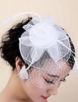 Femme Plume Casque-Mariage Occasion spéciale Pique cheveux 1 Pièce