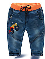 Boy's Casual/Daily Solid PantsCotton Winter / Fall Blue