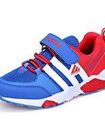 Para Meninos-Tênis-Conforto-Rasteiro-Preto Azul Azul Real-Couro Ecológico-Ar-Livre Casual Para Esporte