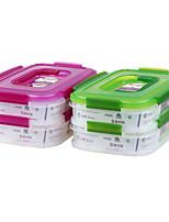 des aliments sains pour les boîtes à lunch contenant multi-fonctions avec poignée (1.15l * 2p)