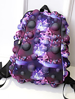 Women Nylon Casual Backpack Purple / Blue / Burgundy