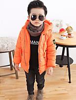 Boy's Casual/Daily Solid Suit & BlazerCotton Winter Blue / Orange