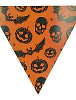 1pc galhardete pendurado bandeiras para o partido do traje do dia das bruxas