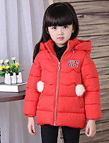 Girl's Casual/Daily Solid Suit & BlazerCotton Winter Black / Blue / Pink / Red