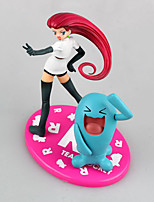 Pocket Monster Jessie Wobbuffet  PVC 13cm Anime Action Figures Model Toys Doll Toy