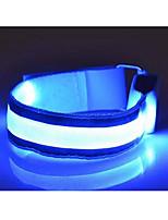 zwei zum Verkauf verpackt LED-Outdoor-reflektierendes Leuchten Armbänder Sportarmbinde
