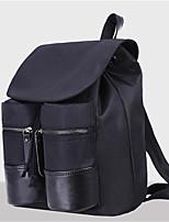 Sports Casual Backpack Women Nylon Purple Blue Black