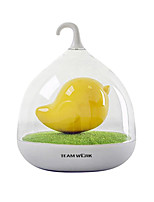 Colorful 3D Bird Cage USB Rechargeable LED Baby Night Light Beside Lamps Dimmer Vibration Sensor Night Lights