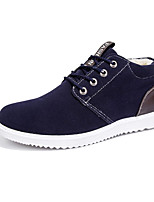 Men's Sneakers Spring / Fall Comfort PU Casual Flat Heel Black / Yellow / Gray Sneaker