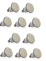 10PCS E14 60SMD 3528 550-600LM  Warm White/White Dimmable/Decorative LED Spotlight