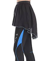 ספורטיבי חצאית לרכיבה לנשים נושם אופניים תחתיות כותנה קלאסי רכיבה על אופניים/אופנייים אביב / סתיו