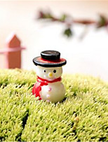 Moss Micro - Landscape Decorative Decoration Cartoon Snowman Small Decoration DIY Materials