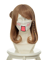 Amnesia Heroine Mixed Flaxen Rinka Haircut Halloween Wigs Synthetic Wigs Costume Wigs