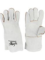 двойной слой полная кожа теплоизоляция электросварка длина 35см перчатки