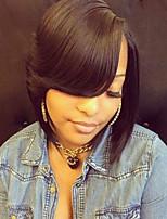 элегантной моды естественная волна парики человеческих волос для женщин