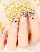 невеста маникюр прекрасный патч ногтей накладные ногти ногтями в 24 штук изделий жевательной резинки