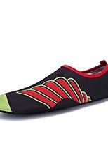 Unisex-Sportschuhe-Outddor Sportlich-Stoff-Flacher Absatz-Komfort Gelee-Gelb Rot